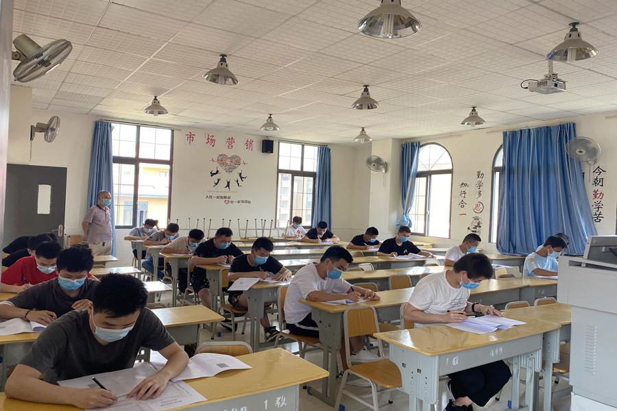 机电系开展线上教学成果测试