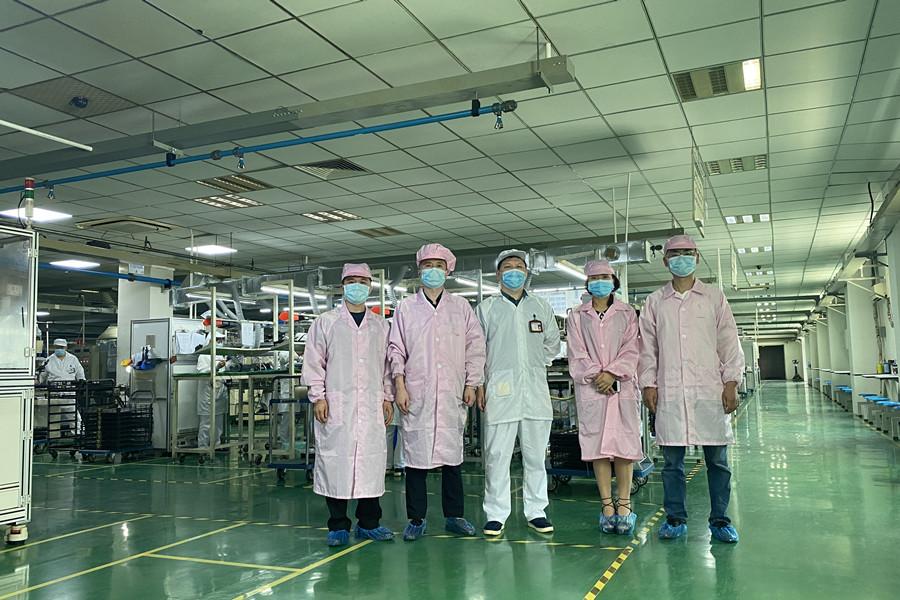 机电系教师深入重庆和诚电器有限公司进行调研