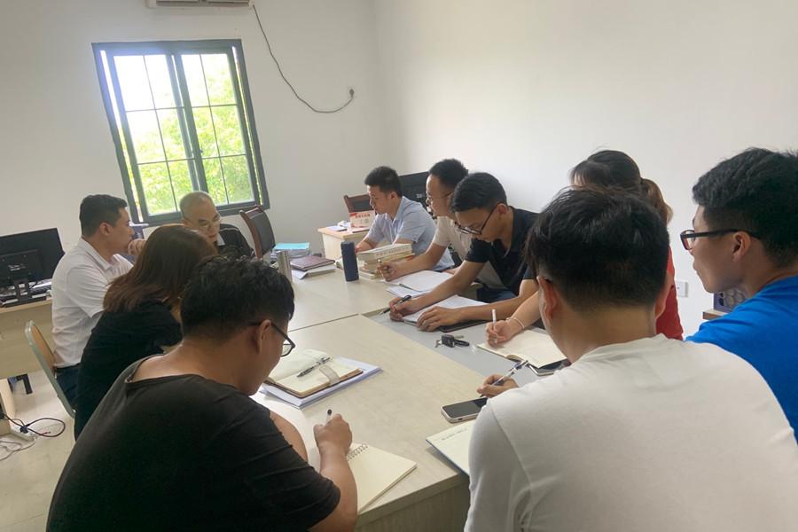 智能制造学院开展7月教职工政治理论学习